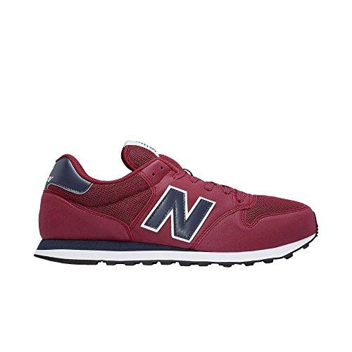 New balance calzado gm500rwn burdeos/negro