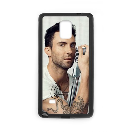 Fayruz- Personalized Maroon 5 Adam Levine Protective Hard Rubber Phone Case for Samsung Galaxy Note 4 Note4 Cover I-N4O919