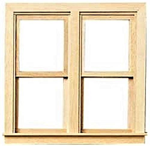 It's Totally Minis Dollhouse Miniatures Window, Double Working #ITM356 ()