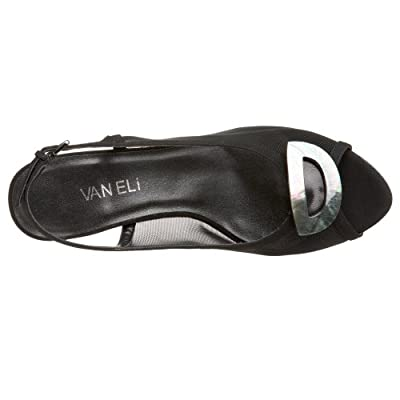 VANELi Women's Mayann Sandal, Black, 11 M US | Shoes