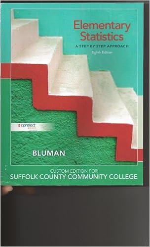 Elementary statistics 8th eighth edition bybluman bluman elementary statistics 8th eighth edition bybluman bluman 8581139444443 amazon books fandeluxe Images