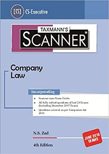 Scanner-Company Law by N.S zad (CS-Executive) June 2018 Exams