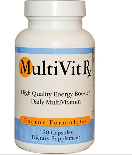 MultiVit Rx, High Quality Daily Vitamins & Minerals, for Men & Women, 120 Capsules Review