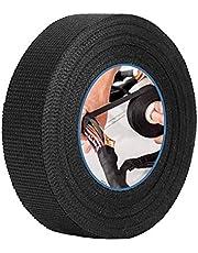Automotive Kabelboom Tape, multifunctionele autobedrading harnas, hittebestendige zelfklevende doek stof tape om lawaai voor auto motorfiets te verminderen, zwart