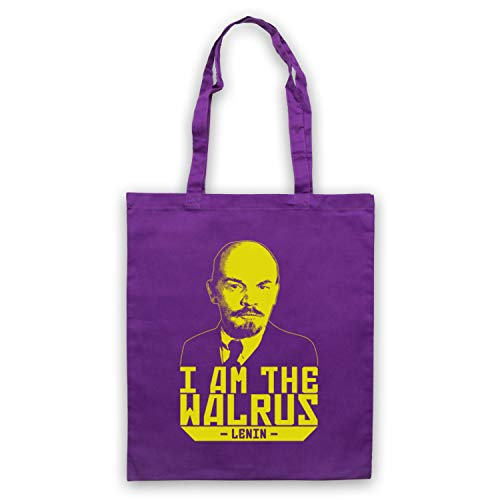 Lebowski D'emballage Am Walrus I Apparel Lenin The Inspired Sac Violet Big By Unofficial Ow1t6Hq