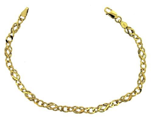 Bracelet - Femme - Or Jaune 375/1000 (9 Cts) 8.19 Gr
