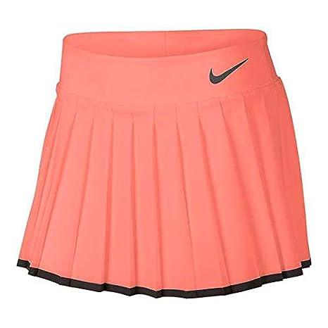 Nike G NKCT Victory Skirt - Falda, Niña, (Lava Glow/Black): Amazon ...
