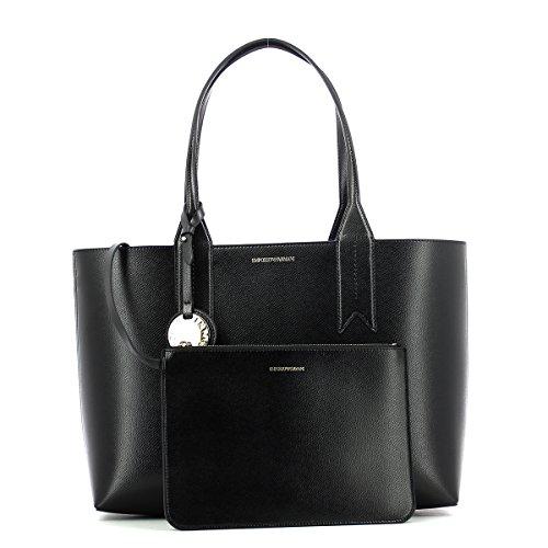 Logo Femme Noir Emporio Armani Noir Shopping Handbag q05nPfUZP