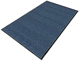product image for Apache Mills Blue Yarn/PVC, Entrance Runner, 3 ft. Width, 10 ft. Length - 0103315053X10