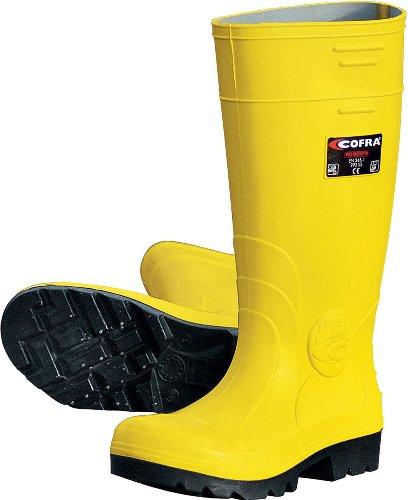 Cofra 00010�?07.w42Größe 42S5Castor Sicherheit Schuhe–Gelb