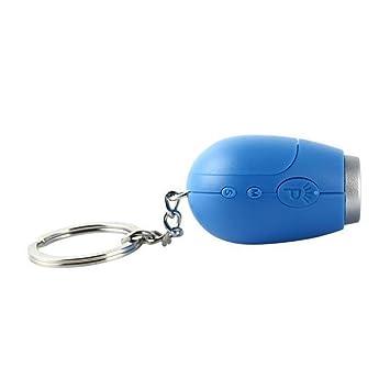 Compra UHAoo LED de la proyección del Portable Digital Mini Proyecto de Reloj Llavero Llavero Pared del Reloj de Fecha y Hora del Temporizador en Amazon.es