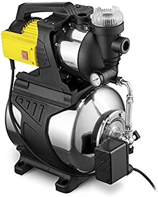 TROTEC Bomba de Agua Doméstica TGP 1050 E aspersor para césped Bomba de jardín 1000 W 3300 l/h Capacidad Acero Inoxidable: Amazon.es: Jardín