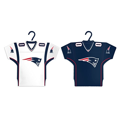 Boelter Brands NFL New England Patriots Home & Away Jersey Ornament, 2-Pack -
