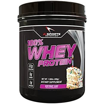 100 Whey Birthday Cake Protein Powder By AI Sports Nutrition