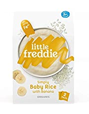 Little Freddie Simply Baby Rice with Banana, Fe2+ (2 Pack), 160 g