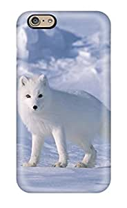 Fashion Tpu Case For Iphone 6- Arctic Foxes Defender Case Cover