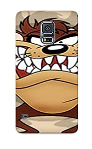Hot Snap-on Looney Tune Tasmanian Devil Resolution Hard Cover Case/ Protective Case For Galaxy S5