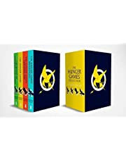 The Hunger Games 4 Book Paperback Box Set: 1-4