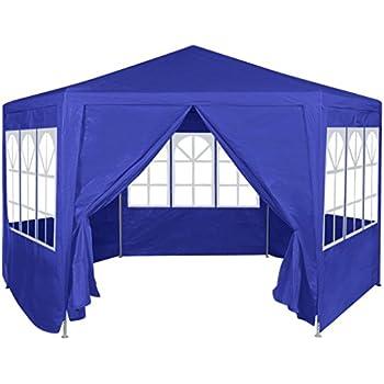 Amazon Com Festnight Garden Outdoor Gazebo Canopy With 6