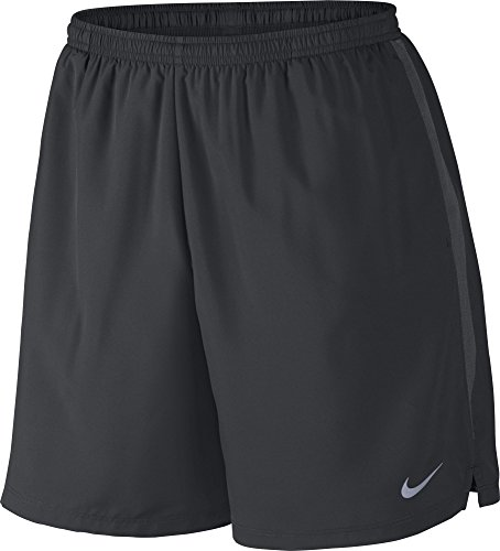 Nike Mens 7 Challenger Running Shorts (X-Large, Black/Anthracite/Reflective (Nike Lightweight Shorts)