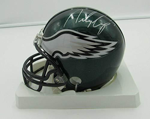 (Riley Cooper Signed Mini Helmet - Riddell PASS 142356 - Autographed NFL Mini Helmets)