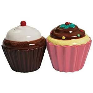 Westland Giftware Cupcakes Salt and Pepper Shakers