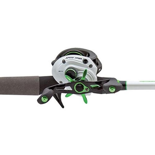 Lew's Fishing MH1SHL610MH Lews Fishing, Mach 1 Speed Spool Baitcast Combo, 6'10'' Length, 7.1: Gear Ratio, 9+1 Bearings, Medium/Heavy Power, Left Hand by Lew's Fishing
