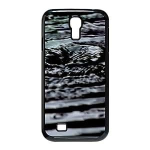 Samsung Galaxy S 4 Case, water ripples Case for Samsung Galaxy S 4 Black