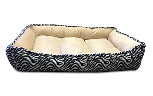 long-rich-Large-Classic-Rectangle-Dog-and-Pet-Bed-24×34-inches-by-Happycare-Textiles
