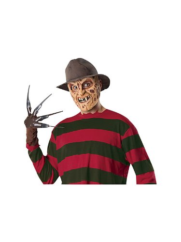 Rubies 49817 Nightmare On Elm Street, Deluxe Fedora, Brown, 4.5-Inch High X 10.5-Inch Wide
