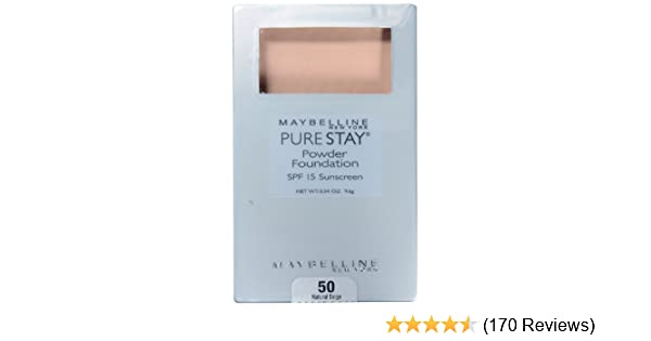 Pure Stay Powder Foundation by Maybelline #21