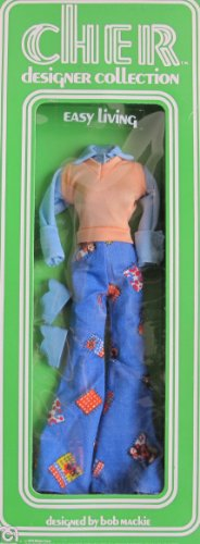 Cher Designer Collection Fashions EASY LIVING Bob Mackie Outfit (1976 Mego)