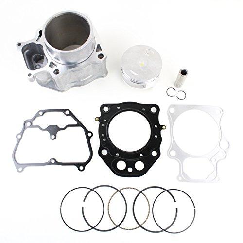 NICHE Cylinder Piston Gasket Top End Rebuild Kit for Honda Rancher TRX420 2007-2018