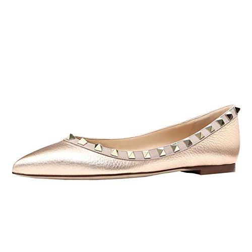 Mujer Ballet Linien Sintético Material Lutalica Gold de RP4ORW8