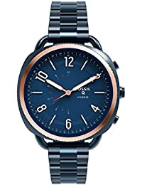 Hybrid Smartwatch - Q Accomplice Navy Blue Stainless