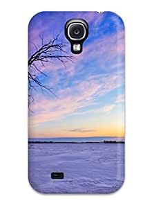 Snap-on Old Tree Sunset Case Cover Skin Compatible With Galaxy S4