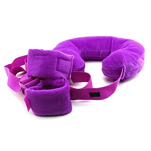 Soft Sling Deeper Pink for Your Perfect Time (Fetish Fantasy Series Position Master With Cuffs)