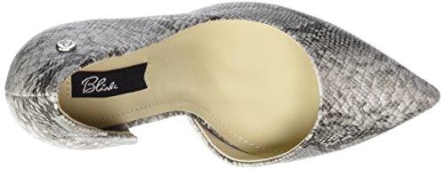 Blink BL 698 - zapatos de tacón cerrados de material sintético mujer Varios Colores - Mehrfarbig (203 Black/white)
