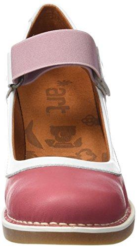 ART 1071 Star St.Tropez, Zapatos de Tacón con Punta Cerrada para Mujer Rosa (Rose)
