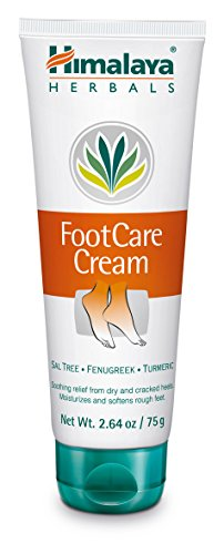 Himalaya Foot Care Cream for Dry and Cracked Heels, 2.64 Oz. / 75 g - Care Foot Cream