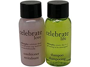 Philosophy Believe in Miracles Blackberry Musk Conditioner and Lime Blossom Shampoo Lot of 18 Bottles 9 of each 1oz Bottles. Total of 18oz