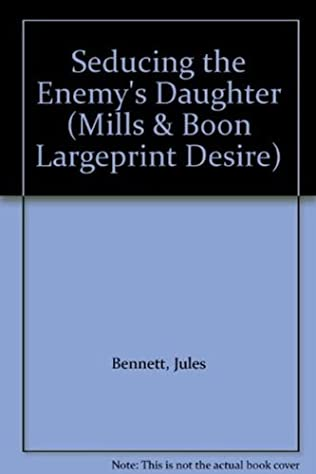 book cover of Seducing the Enemy\'s Daughter