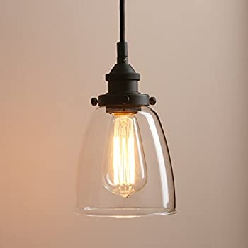 Pathson Rustic Retro Oval Shaped Style Pendant Light Dia 5.6u201d With Metal  Base Cap And Adjustable Textile Cord Industrial Simple Design Pendant Lamp  Loft ...
