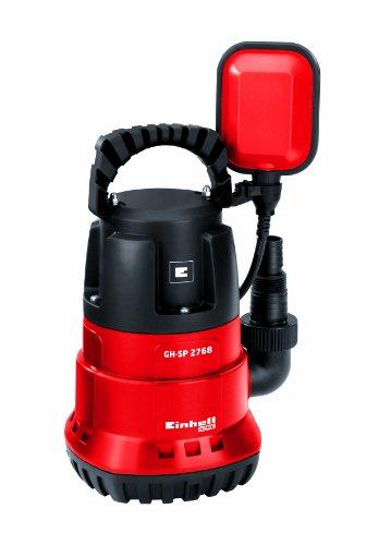 Einhell-Tauchpumpe-GH-SP-2768-270-W-max-6800-lh-5-m-Eintauchtiefe-max-35-C-stufenlos-einstellbarer-Schwimmschalter-Tragegriff