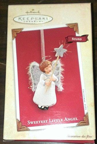 Hallmark 2003 Sweetest Little Angel - Magic Ornament - #QLX7574