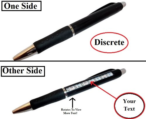 (EvesErose Helping Hand Spy Gadget Hidden Notes Rotating Pen for Multi Uses & Personal Use. Great Gift or Party Favor! )