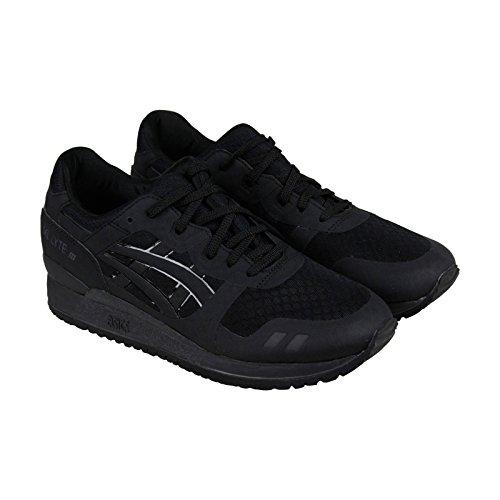 ASICS GEL Lyte III NS Retro Running Shoe, Black/Black, 12 M US