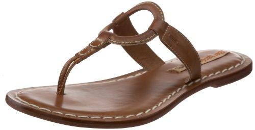 Bernardo Kvinners Matrise Tanga Sandal Pecan