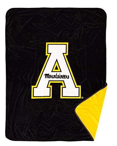 New to Market! Appalachian State University Mountaineers Plush Fleece Blanket (Fleece University)