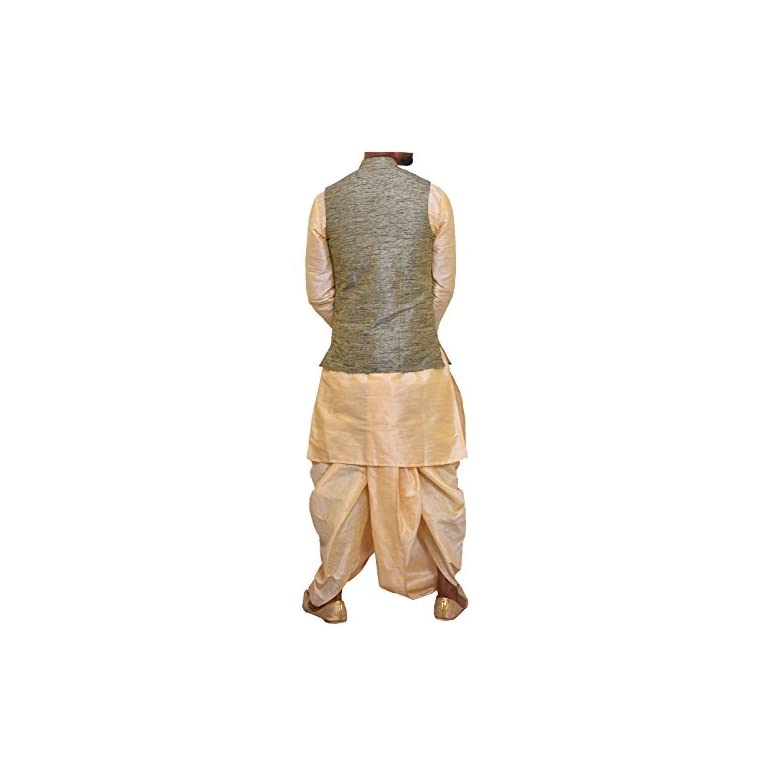 41VLV5Cls5L. SS768  - Modern Garments Men Dhoti Kurta with Waistcoat